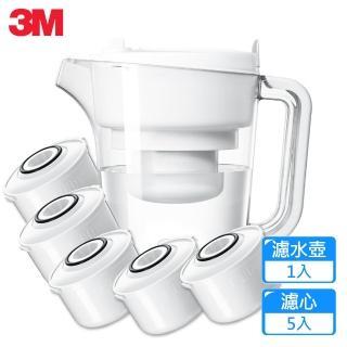 【3M】經典款即淨長效濾水壺WP3000(1壺+5濾心)