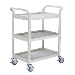 【100%台灣製】標準型多功能三層工具餐車/置物架/手推車