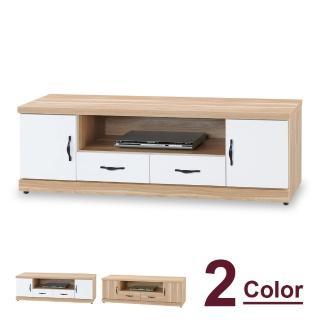 【時尚屋】原切浮雕5尺電視櫃5U7-283-812 兩色可選(免運費 客廳 電視櫃)