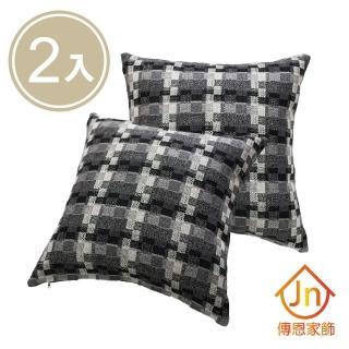 【J&N】亞倫抱枕-45x45cm(2 入)