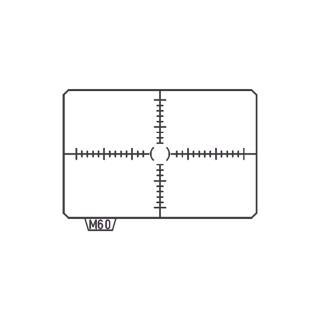 【PENTAX】MI-60 CROSS- LINED 井字格線對焦屏(公司貨)