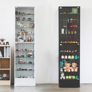【樂活主義】加高180cm直立式玻璃櫃/展示櫃/公仔櫃/模型櫃/收納櫃