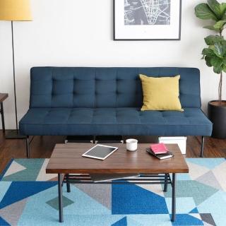 【H&D】阿諾工業風簡約舒適(沙發床 3色可選)