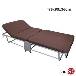 【邏爵LOGIS】佳愛蜜加寬90CM二折床看護床(陪伴床 可拆洗)