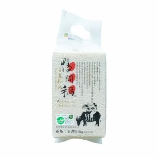 【禾掌屋】鴨間稻有機長秈白米(1.5Kg/1入)