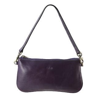 【Sika】義大利真皮風潮迷你肩背包-背帶可拆換(A8229-07木槿紫)