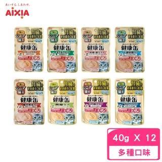 【愛喜雅Aixia】《11歲健康軟包系列》腎臟保健配方(12包組)