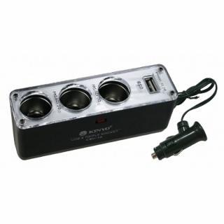 車用點煙器+USB充電擴充座(CRU-16)