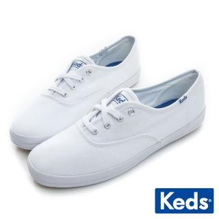 【Keds】經典長青帆布鞋(白色)