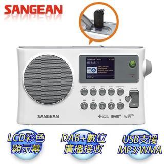【SANGEAN】WiFi網路收音機/數位廣播/調頻/USB網路收音機 WFR28C(收音機、WiFi、USB網路、WFR-28C)