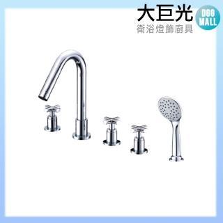 【大巨光】浴用檯面雙槍水龍頭_5件式(TAP-112010)
