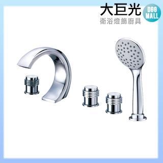 【大巨光】浴用檯面雙槍水龍頭_5件式(TAP-112018)