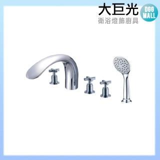 【大巨光】浴用檯面雙槍水龍頭_5件式(TAP-112022)
