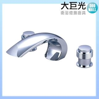 【大巨光】浴用檯面雙槍水龍頭_3件式(TAP-112027)