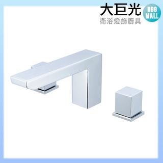 【大巨光】浴用檯面雙槍水龍頭_3件式(TAP-112118)