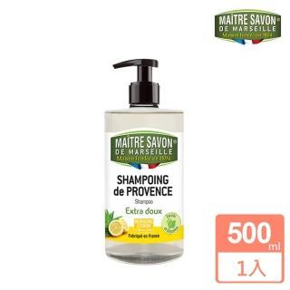 【法國 玫翠思】馬賽洗髮精500ml(檸檬馬鞭草)