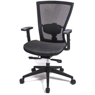 【aaronation 愛倫國度】頂級高韌性全網T把手電腦椅(AM-813)
