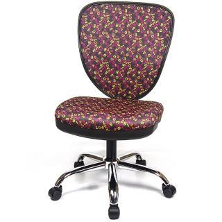 【aaronation 愛倫國度】數字網美背設計金屬底兒童椅 三色可選(AM-837)