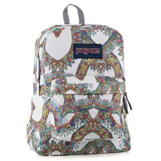 【JanSport】校園背包-SUPER BREAK(慶典)