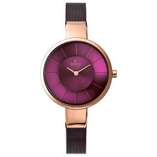 【OBAKU】采麗時刻時尚米蘭帶腕錶(V149LXVQMN)