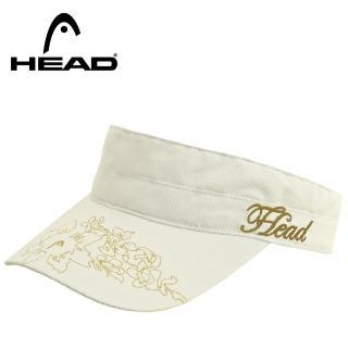 【HEAD】Womens Visor 女性遮陽帽-白2入(網球遮陽好幫手)