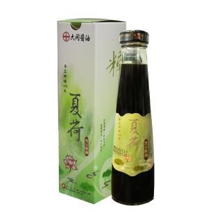 【西螺大同醬油】夏荷黑豆壺底蔭油(手工粹釀180天)