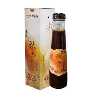 【西螺大同醬油】秋賞黑豆壺底蔭油膏(手工粹釀180天)