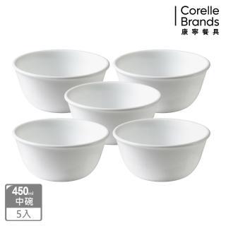 【CORELLE 康寧】康寧純白5件式餐盤組(501)