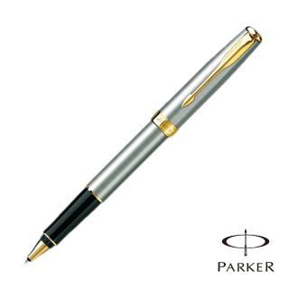 【PARKER 派克】SONNET 商籟 鋼桿金夾 鋼珠筆(原廠正貨)