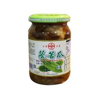 【西螺大同醬油】蔭苦瓜380g(遵古釀造)
