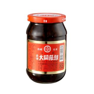 【西螺大同醬油】素食蔭鼓380g(遵古釀造)