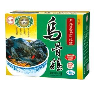 【鮮食家任選799】台糖 冬蟲夏草菌絲體烏骨雞(2.2kg/盒)