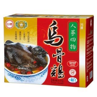 【鮮食家任選799】台糖 人蔘四物烏骨雞(2.2kg/盒)