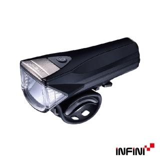 【INFINI】SATURN I-330P 反射光USB充電式前燈(鈦色)