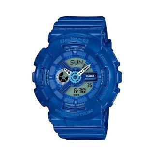 【CASIO卡西歐】卡西歐 Baby-G 重裝美學雙顯運動錶(BA-110BC-2A)
