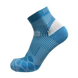 【EGXtech】8字款PLUS中統多功運動襪2雙組(P82+白/藍)