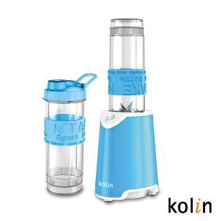 【歌林】隨行杯冰沙果汁機-雙杯藍(KJE-MNR572B)