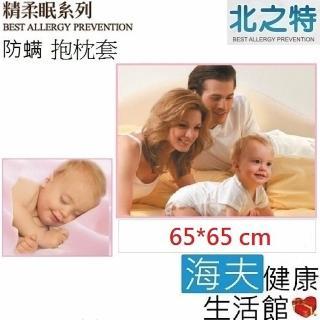 【北之特】防蹣寢具_抱枕套_E3精柔眠(65*65 cm)