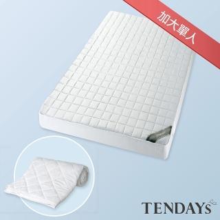 【TENDAYS】備長炭床包型保潔墊(加大單人3.5尺)