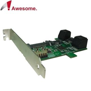 【Awesome】PCI/PCIe槽SATA 1轉5 Port Multiplier擴充卡(AWD-ST-172A)