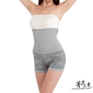 【菁炭元素】560高丹雙層百和竹炭頂級黑絲絨保暖爆瘦凸擊體雕塑褲 一件