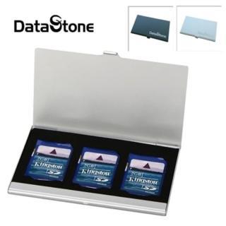 【Datastone】超薄型Slim鋁合金(3SD 多功能記憶卡收納盒)