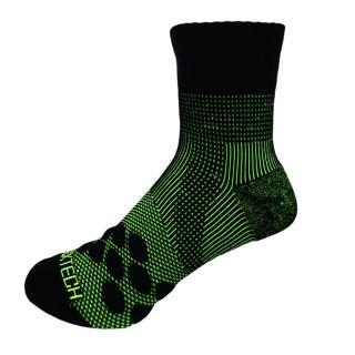 【EGXtech】中筒多功8字AIR運動襪(P83螢光綠2雙入)