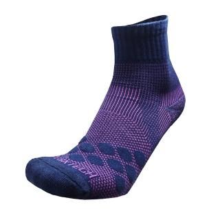 【EGXtech】中筒多功8字AIR運動襪(P83丈青/紫2雙入)