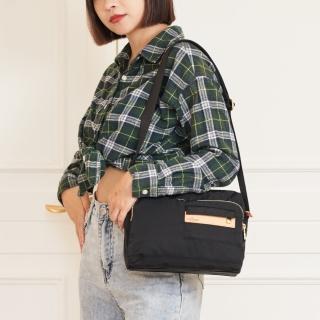 【satana】簡約斜背包(黑色)