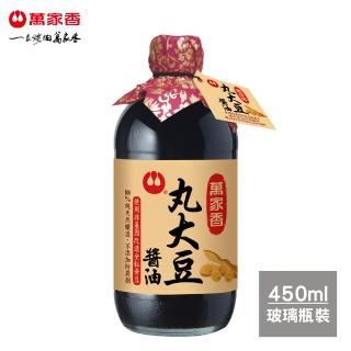 【萬家香】丸大豆醬油(450ml)X3入