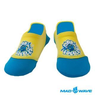 【俄羅斯MADWAVE】兒童水陸兩用junior aquasocks SPLASH(透氣防滑潛水襪/浮潛襪)