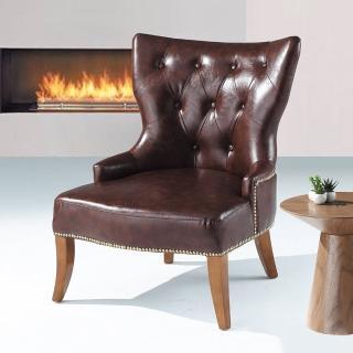【Bernice】蘿莉單人沙發休閒椅
