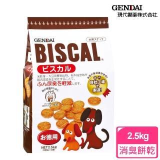 【必吃客Biscal】犬用-除臭餅乾(2.5kg)