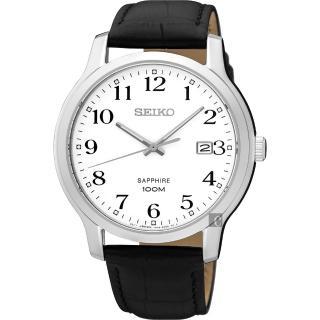 【SEIKO】精工 CS系列城市戀人皮帶腕錶-白/41mm(7N42-0GE0C  SGEH69P1)